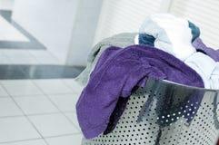 βρώμικες πετσέτες Στοκ Φωτογραφίες