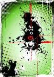 βρώμικη αφίσα γκολφ 2 απεικόνιση αποθεμάτων