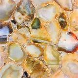 Βρώμικη αφηρημένη τέχνη τοίχων watercolor μινιμαλιστική των πετρών πολύτιμων λίθων Στοκ εικόνα με δικαίωμα ελεύθερης χρήσης