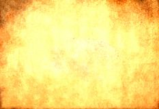 Βρώμικη κίτρινη σύσταση εγγράφου Στοκ εικόνα με δικαίωμα ελεύθερης χρήσης