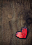 Βρώμικη καρδιά βαλεντίνων Στοκ Φωτογραφίες