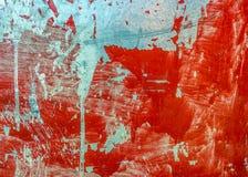 Βρώμικη κόκκινη σύσταση φύλλων μετάλλων Στοκ εικόνες με δικαίωμα ελεύθερης χρήσης