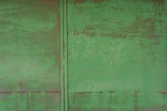 Βρώμικη, παλαιά επιφάνεια μετάλλων Σύσταση άσπρος-γκρι grunge κλείστε επάνω Στοκ Φωτογραφίες
