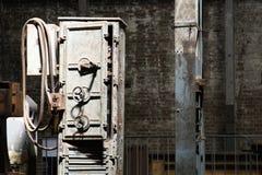 Βρώμικη παλαιά αποθήκη εμπορευμάτων Στοκ Εικόνα