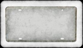 βρώμικη πινακίδα αριθμού κ&ups Στοκ Εικόνα