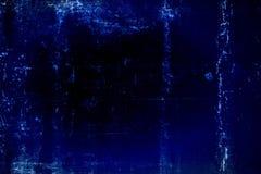 Βρώμικη σκούρο μπλε σύσταση Στοκ Φωτογραφία
