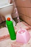 βρώμικη τουαλέτα Στοκ Φωτογραφίες