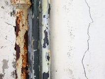 βρώμικη υδραυλική εγκατ Στοκ φωτογραφία με δικαίωμα ελεύθερης χρήσης