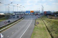 βρώμικη όψη εθνικών οδών γυαλιού αυτοκινήτων Στοκ Φωτογραφίες