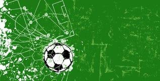 Βρώμικη stratetgy κακογραφία ποδοσφαίρου Στοκ Φωτογραφία