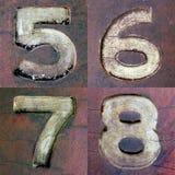 Βρώμικοι αριθμοί 2 Στοκ φωτογραφία με δικαίωμα ελεύθερης χρήσης