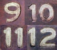 Βρώμικοι αριθμοί 3 Στοκ Εικόνα