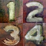 Βρώμικοι αριθμοί 1 Στοκ φωτογραφία με δικαίωμα ελεύθερης χρήσης