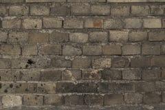 βρώμικος βρώμικος παλαιός τοίχος τούβλου ανασκόπησης Στοκ Φωτογραφίες