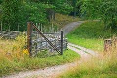 βρώμικος δρόμος Στοκ Εικόνες