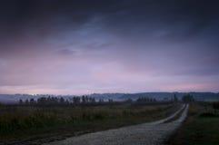 βρώμικος δρόμος Στοκ φωτογραφία με δικαίωμα ελεύθερης χρήσης