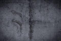 Βρώμικος και ομαλός γυμνός συμπαγής τοίχος για το υπόβαθρο Στοκ φωτογραφία με δικαίωμα ελεύθερης χρήσης
