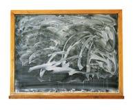 Βρώμικος πίνακας Στοκ φωτογραφία με δικαίωμα ελεύθερης χρήσης