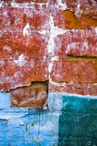 βρώμικος παλαιός τοίχος Στοκ Φωτογραφίες