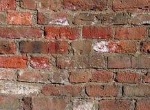 βρώμικος παλαιός τούβλου ανασκόπησης Στοκ Εικόνες