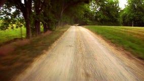 Βρώμικος δρόμος 2 απόθεμα βίντεο