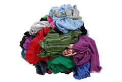 βρώμικος σωρός πλυντηρίων Στοκ Φωτογραφίες