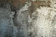 Βρώμικος τοίχος ασβεστοκονιάματος αποφλοίωσης Στοκ Φωτογραφία