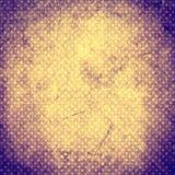 βρώμικος τρύγος ανασκόπησης Αναδρομικό σχέδιο με τα σημεία και τις συστάσεις Κατασκευασμένο παλαιό σκηνικό κατασκευασμένος παραδο Στοκ Φωτογραφίες