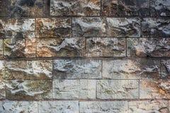 Βρώμικος φορεμένος τοίχος των ελαφριών φραγμών πετρών στοκ φωτογραφία