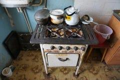 Βρώμικος φούρνος Στοκ Εικόνες