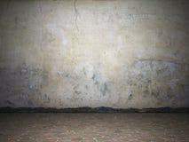 βρώμικος φωτισμένος grunge τοίχ ελεύθερη απεικόνιση δικαιώματος
