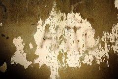 Βρώμικος χρωματισμένος τοίχος Στοκ Φωτογραφίες