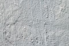 Βρώμικο άσπρο υπόβαθρο συμπαγών τοίχων Τοίχος με το χρωματισμένο στόκο Στοκ φωτογραφία με δικαίωμα ελεύθερης χρήσης