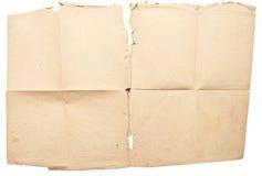 βρώμικο έγγραφο μορφής αν&alph Στοκ Φωτογραφίες