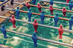 βρώμικο επιτραπέζιο ποδόσφαιρο Στοκ εικόνα με δικαίωμα ελεύθερης χρήσης