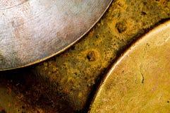 βρώμικο μέταλλο ανασκόπησης Στοκ Εικόνες