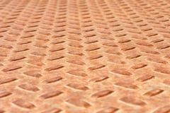 βρώμικο μεταλλικό πιάτο ridged Στοκ φωτογραφίες με δικαίωμα ελεύθερης χρήσης