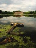 βρώμικο πάρκο Στοκ εικόνα με δικαίωμα ελεύθερης χρήσης