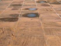 Βρώμικο πέτρινο πάτωμα σύστασης Στοκ φωτογραφίες με δικαίωμα ελεύθερης χρήσης