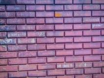 Βρώμικο παλαιό σχέδιο τουβλότοιχος Αφηρημένο κόκκινο ηλικίας τούβλο backgroun Στοκ Φωτογραφία