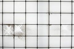 Βρώμικο παράθυρο Στοκ Φωτογραφίες