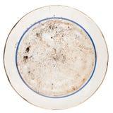 Βρώμικο πιάτο Στοκ εικόνα με δικαίωμα ελεύθερης χρήσης