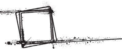 Βρώμικο πλαίσιο Στοκ εικόνα με δικαίωμα ελεύθερης χρήσης