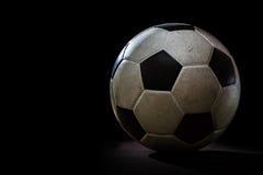 βρώμικο ποδόσφαιρο σφαιρ Στοκ Εικόνα