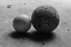 Βρώμικο ποδόσφαιρο δύο Στοκ Εικόνες
