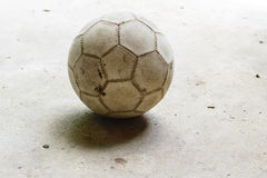 Βρώμικο ποδόσφαιρο Στοκ εικόνα με δικαίωμα ελεύθερης χρήσης
