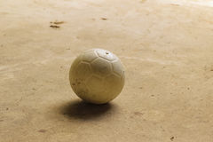 Βρώμικο ποδόσφαιρο Στοκ Εικόνες