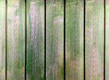 Βρώμικο πράσινο ξύλινο υπόβαθρο σανίδων Στοκ Εικόνα