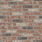 βρώμικο πρότυπο τούβλου Στοκ Εικόνες