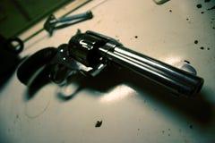 βρώμικο πυροβόλο όπλο Στοκ εικόνες με δικαίωμα ελεύθερης χρήσης